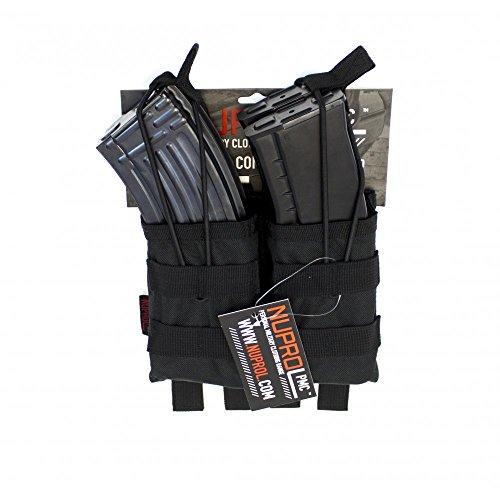 Nuprol PMC AK Doppel Magazintasche, Schwarz