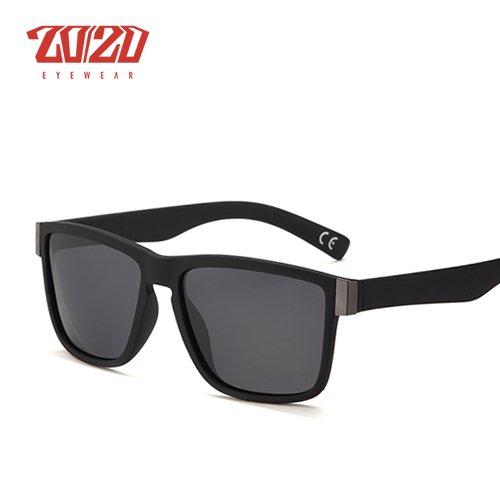 acd8d376c84 Classic Polarized Sunglasses Men Glasses Driving Coating Black Frame Fishing  Driving Eyewear Male Sun Glasses Oculos PL278  Amazon.co.uk  Clothing