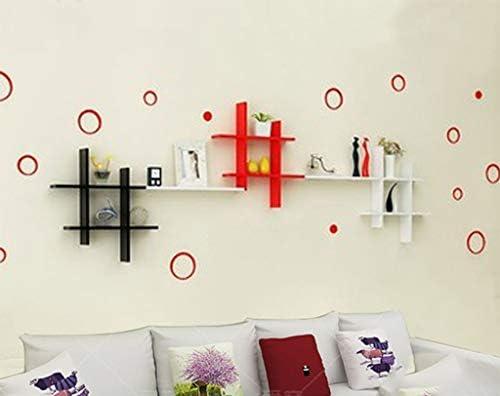 Sjysxm floating shelf wandregal wohnzimmer tv hintergrund wand