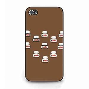 Sweet Nutella Logo iPhone 4 Fundas,Phone Back Fundas iPhone 4 Nutella Logo Fundas