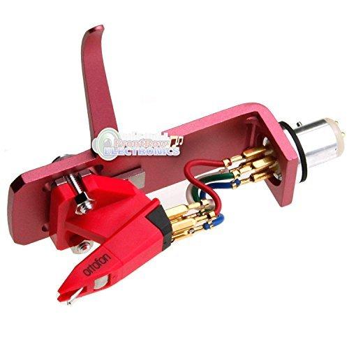 Ortofon OM SCRATCH Cartridge Pre-Mounted on SH-4 Headshell Pink