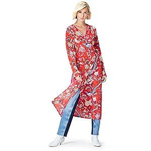 Marca Amazon - find. Vestido Midi Cruzado Mujer | DeHippies.com