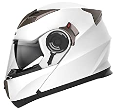 Professional Grade Motorcycle Helmet: DOT FMVSS 218 standard approved. Exciting fashionable design with lots of advanced features. Exactly what you need for Street Bike, Racing, Motocross, ATV, Dirt Bike, MX, Quad, Adventure and much more. Fo...