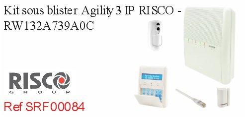 Kit bajo blister agility3 IP Risco - rw132 a739 a0 C: Amazon ...