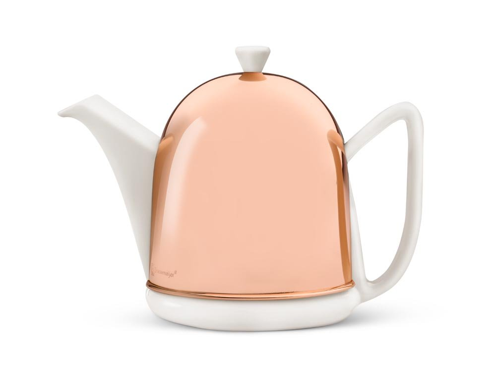 Bredemeijer Cosy 1510WK Cosy Manto Teapot 1.0 L White Metal Fittings