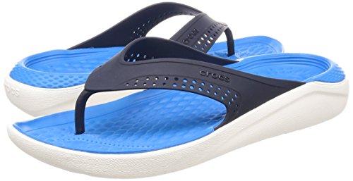 Crocs Crocs Literide Bleu Feuilleter Marine Literide fqfw5n1