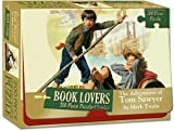 Book Lovers 200 Piece Puzzle Classics The Adventures of Tom Sawyer by Mark Twain