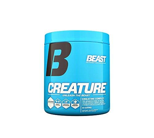 Beast Sports Nutrition Créature poudre, sans saveur, 240 Gram