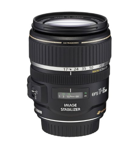 Canon EF-S 17-85mm f/4-5.6 Image Stabilized USM SLR Lens for