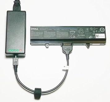Externo (Independiente) portátil cargador de batería para Dell Inspiron 1525, 1526, 1545, 1440, 1750 serie - carga tu Batería sin sistema ordenador ...