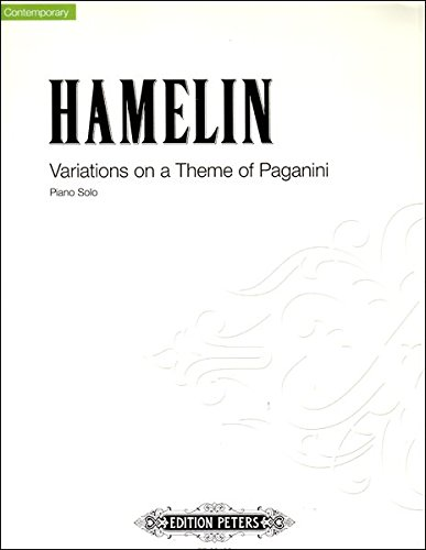 Hamelin: Variations on a Theme of Paganini - Piano Solo (Variations On A Theme By Paganini Sheet Music)