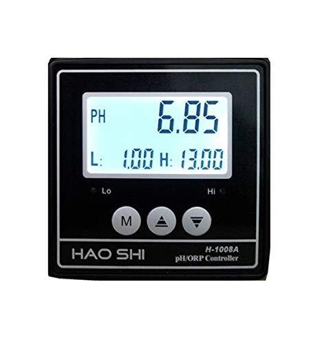 Medidor de pH industrial en línea, transmisor de PH con electrodo