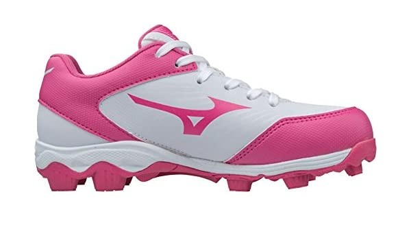 743dc515f745 Amazon.com | Mizuno (MIZD9) Kids' 9-Spike Advanced Finch Franchise 7 Youth  Girls Fastpitch Softball Cleat Shoe | Softball & Baseball
