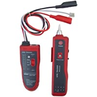 Noyafa D3IN0009 NF-806R Network Telephone Cable Tester Wire Tracker with Headphone