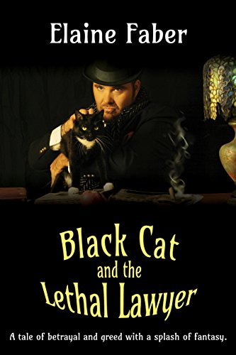 Black Cat and the Lethal Lawyer (Black Cat Mysteries Book 2)