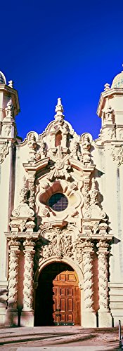 Entrance doorway of Casa del Prado Theater, Balboa Park, San Diego, California, USA Poster Print (13 x 36)