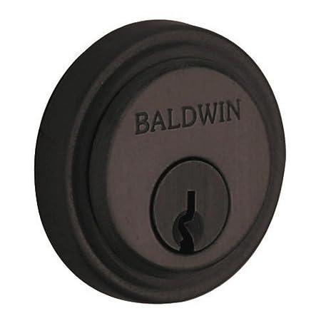 Venetian Bronze Baldwin 6757 Colonial Round Decorative Cylinder Trim Collar