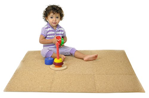 Tadpoles Soft EVA Foam 9 Piece Playmat Set, Cork,...