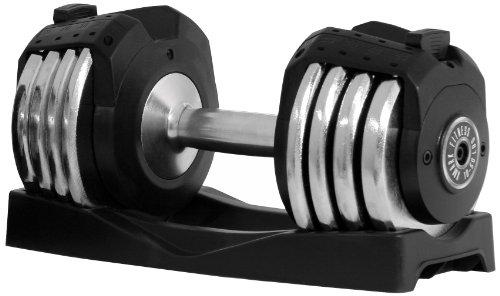 XMark Pair of Adjustable 50 lb. Dumbbells (Set of 2)
