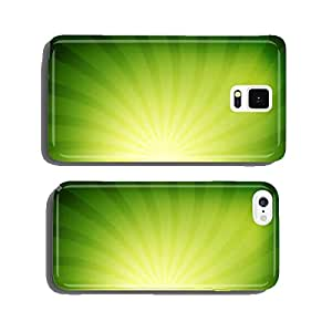 Colorful rays abstract background cell phone cover case Samsung S6