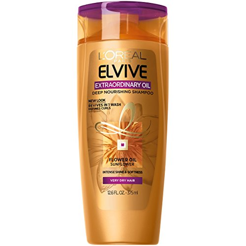 L'Oreal Paris Hair Care Advanced Extraordinary Oil Curls Shampoo, 12.6 Fluid Ounce (Loreal Best Shampoo For Dry Hair)