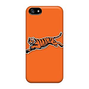 Fashionable Style Case Cover Skin For Iphone 5/5s- Cincinnati Bengals 8