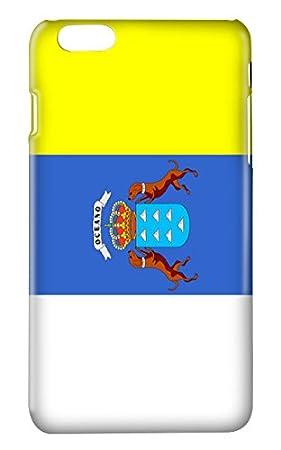 Protector Cristal Templado + Carcasa Bandera Islas Canarias ...