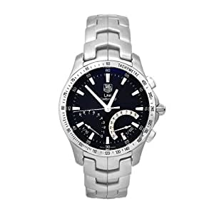 TAG Heuer Men's CJF7110.BA0592 Link Calibre S Stainless Steel Chronograph 1/100th Watch