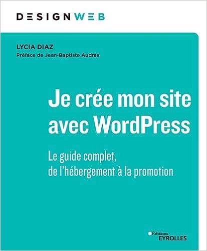 Livre Je crée mon site avec WordPress