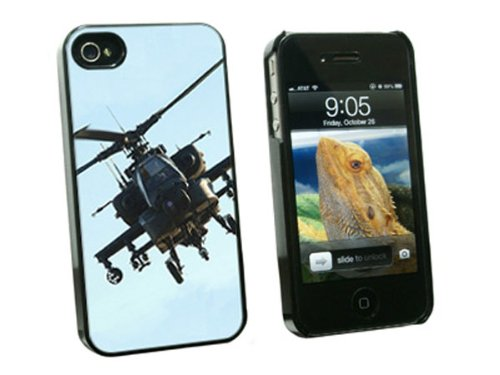 Graphics and More Apache Helicopter - Snap On Hard Protec...
