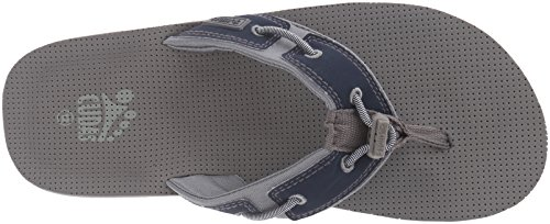 Cudas Hombres Seneca Flip Flop Gris / Azul Marino