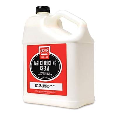 Griot's Garage B110G BOSS Fast Correcting Cream Gallon: Automotive