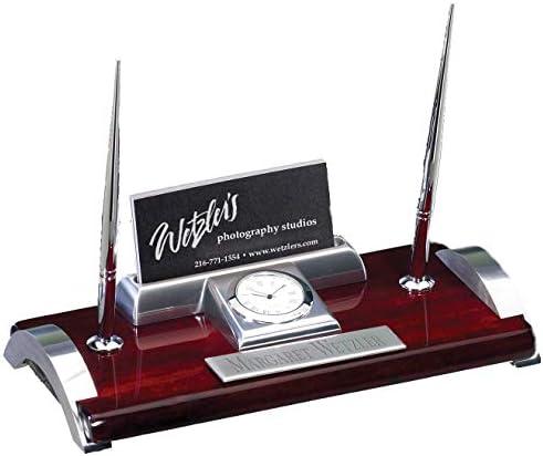 Pen Nib Metal Memo Notepad Card Holder /& Pen Set FREE ENGRAVING 455
