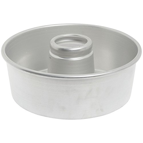 Chicago Metallic 46560 Aluminum #656 Angel Food Tube Cake Pan (Chicago Metallic Angels Non Stick Pan)