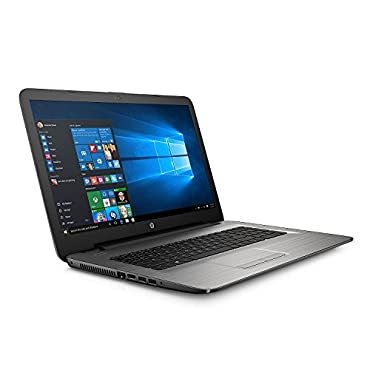 HP 17-x037cl Silvertone 17.3 Notebook with Intel Core i3-5005U 2.0GHz , 8GB RAM, 1TB HDD, SuperMulti DVD Burner, Bluetooth, Windows 10