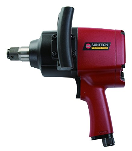 SUNTECH SM-47-4075 Air Impact Wrench with Heavy Duty, Red/Black, 1'' by SUNTECH