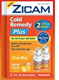 Zicam Oral Mist Honey Lemon Flavor 2 1.0 Fl. Oz. Bottles