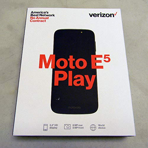Verizon Wireless Prepaid - Motorola Moto E5 Play - 4G with 1