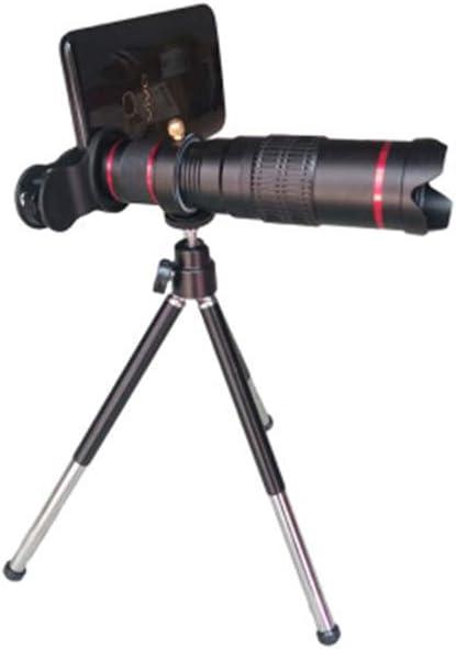 GXYAS - Telescopio monocular Ajustable para cámara fotográfica (Alta definición, con trípode para Smartphone, Apto para Caza, montañismo, Paisaje de pájaros