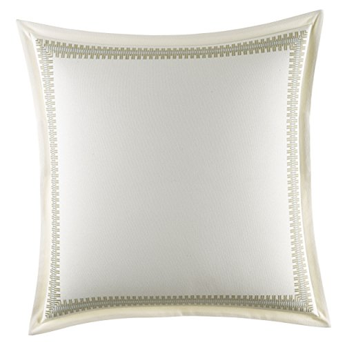 Tommy Bahama Palms Away Euro Sham, 26 x 26, Medium Beige (Euro Beige Sham)