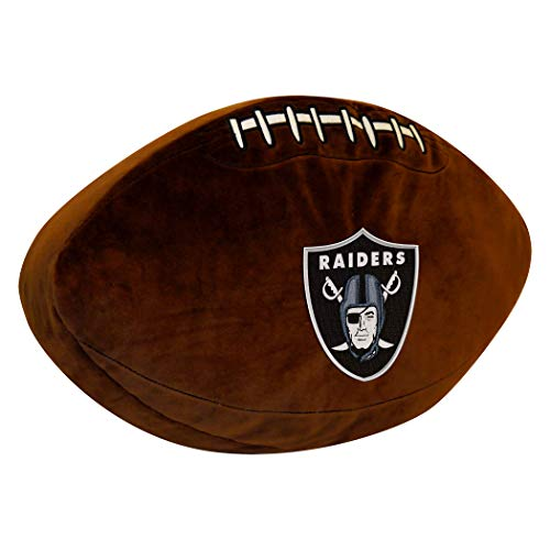 Officially Licensed NFL Oakland Raiders 3D Sports Pillow, 19.5