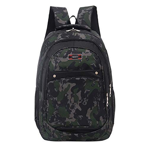 ��♛HYIRI Women's School Backpack Camouflage Printing Students Bags ()