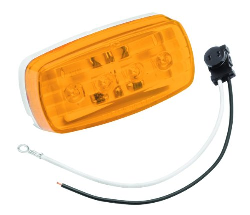 Bargman 47-58-032 #58 Series Amber Clearance Side/Marker LED Light