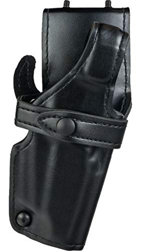 Safariland 0705 Level III 1.5-Inch Drop Retention Duty Holster, Low Ride, Black, Plain Right Hand, - Holster Safariland Duty 0705