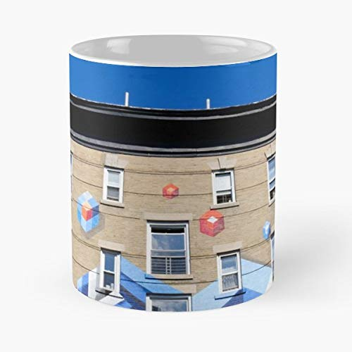 Architecture Architectural Facade Exterior - 11 Oz Coffee Mugs Unique Ceramic Novelty Cup, The Best Gift For -
