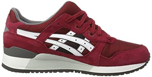 Sneakers lyte white Asics Marrone Iii 2301 Basse Da Unisex Gel burgundy Adulto 7wtqCvtnZ