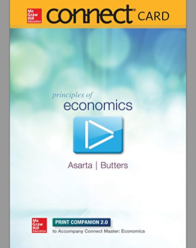 Connect Master 1-Semester Access Card for Principles of Economics (1 Master Butter)