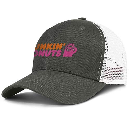 (Mens Womens Dunkin'-Donuts-Cups- Adjustable Bucket Hats Military Caps Fashion Trucker Hat)