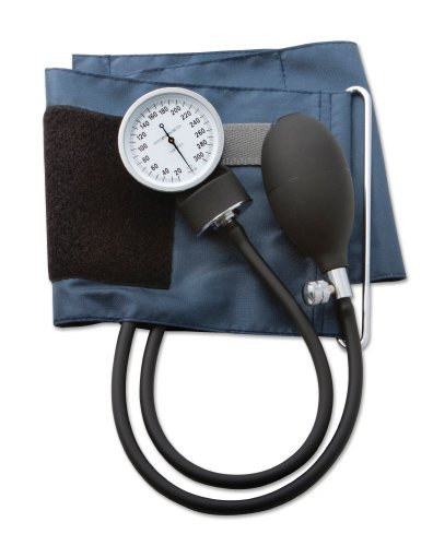- ADC Prosphyg 785 Pocket Aneroid Sphygmomanometer, with Self-Adjusting Adult Navy Blood Pressure Cuff and Carrying Case