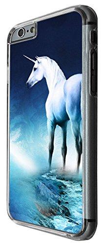 1352 - Cool Fun Trendy cute kwaii nature unicorn horse fantasy whimsical (2) Design iphone 5C Coque Fashion Trend Case Coque Protection Cover plastique et métal - Clear